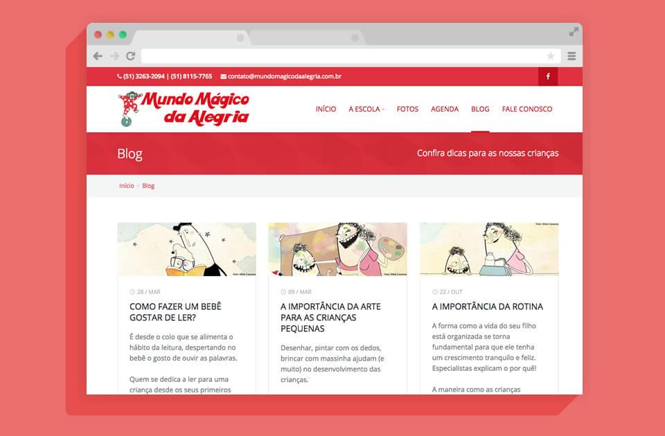 MUNDO MÁGICO DA ALEGRIA